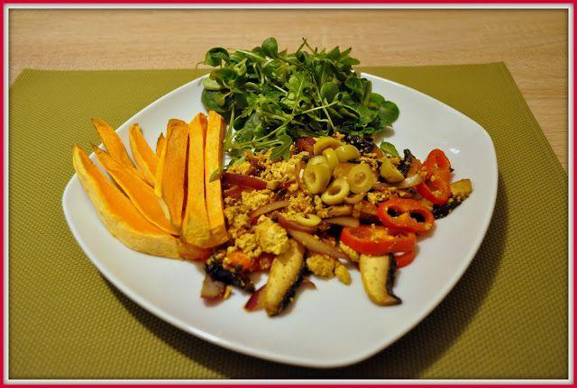 We love our kitchen: Tofu praženicaAhoj! Ak máte radi tofu, vyskúšajte ...