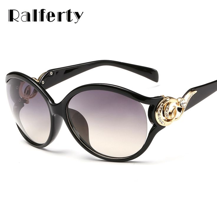 $5.99 (Buy here: https://alitems.com/g/1e8d114494ebda23ff8b16525dc3e8/?i=5&ulp=https%3A%2F%2Fwww.aliexpress.com%2Fitem%2Fsunglasses-505%2F32714072204.html ) Ralferty Vintage Crystal Sunglasses Women Brand Designer Female Pierced Gradient Sun Glasses UV400 Oculos lunette femme 505 for just $5.99