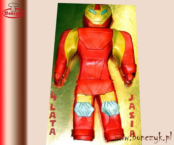 #Ironman, #cake, #tort, #Ironmancake, #Ironmantort, www.bonczyk.pl