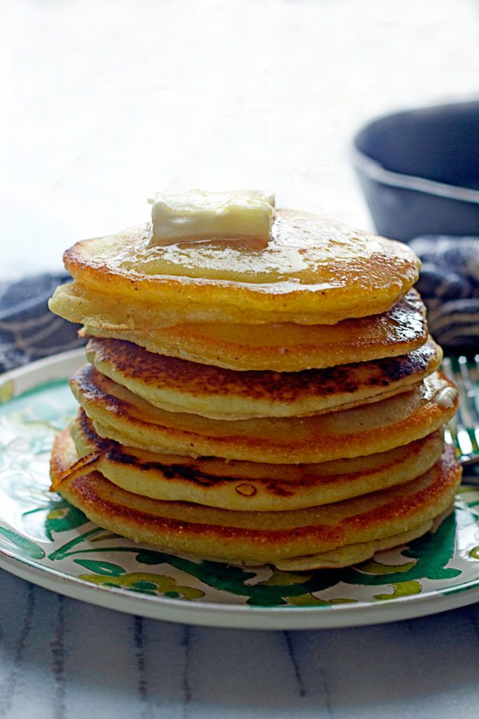Southern Johnny Cakes (Or Hoe Cakes) - Grandbaby Cakes