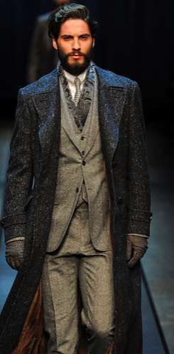 That coat - The Canali Fall/Winter 2013 Menswear