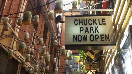 Chuckle Park, Melbourne, Victoria, Australia  322 Little Collins Street, Melbourne, Victoria 3000