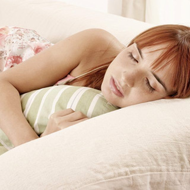 Releasing flatulence while sleeping is normal.