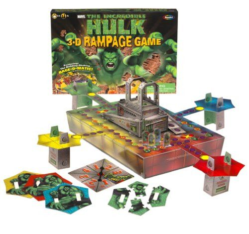 The Incredible Hulk 3-D Rampage Game