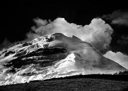 Cotopaxi at night Photo by steven austin -- National Geographic Your Shot