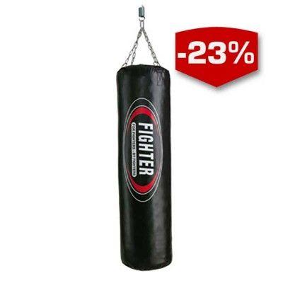 Fighter Boxningssäck Hard Hitter en perfekt säck för thai- och kickboxningsträning. Träna slag- och sparktekniker, armbågar och knän. Vår populäraste säck för kampsportsträning hemma.