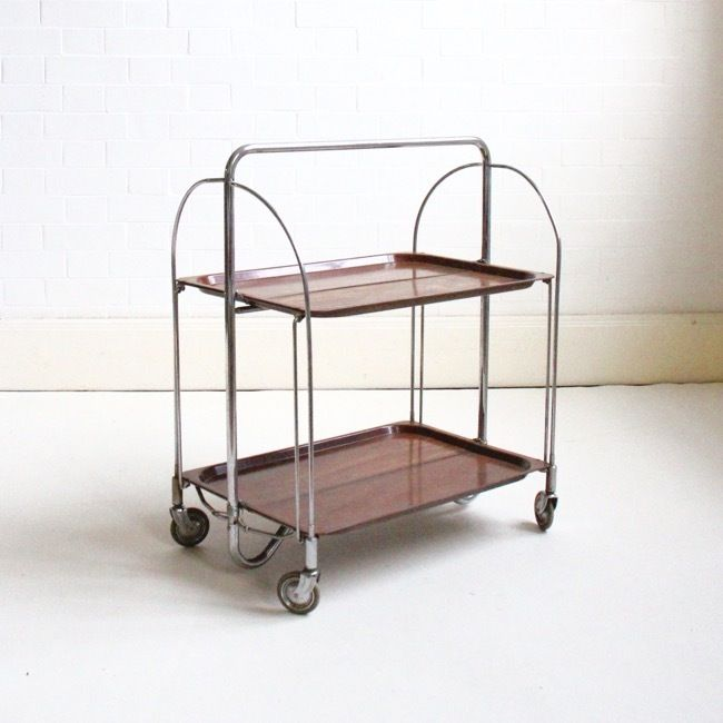 German Fold Away Trolley c1960