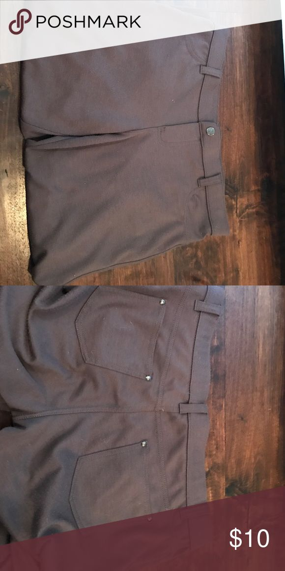 Gray brown skinned jeans Gray and brown skinny jeans size Large from New York And Company New York & Company Pants Skinny