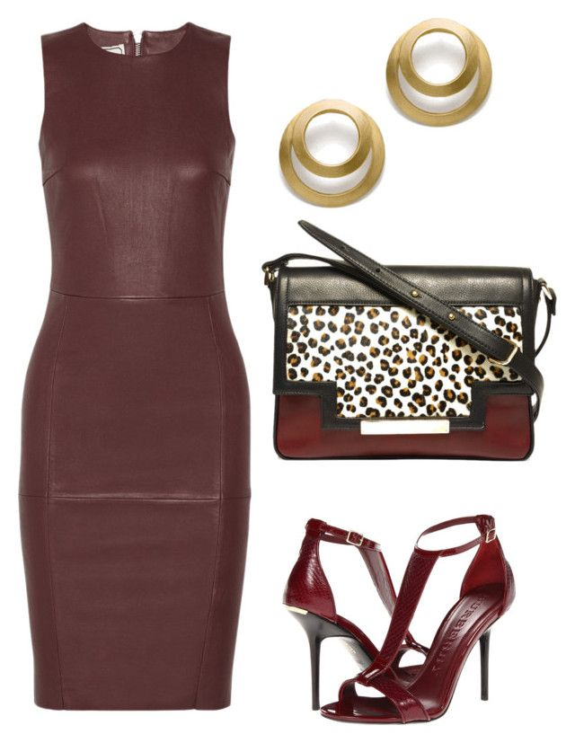 """chics"" by mchlap on Polyvore featuring By Malene Birger, Burberry and Lizzie Fortunato Jewels"