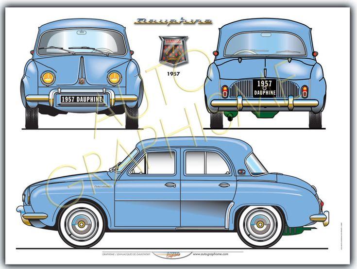 Renault Dauphine 57