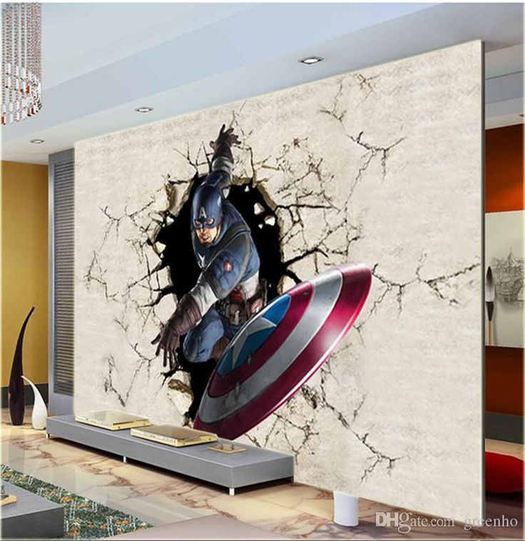 3d View Wall Mural Captain America Photo Wallpaper The Avengers Wallpaper Room Decor Kid'S Room Tv Background Wall Bedroom Hallway Home Art Actress Wallpapers Aishwarya Rai Wallpaper From Greenho, $25.97| Dhgate.Com - Visit to grab an amazing super hero shirt now on sale!