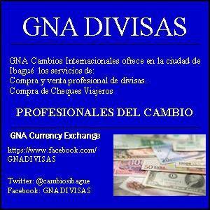 Compra y venta de divisas en la ciudad de Ibagué-Colombia