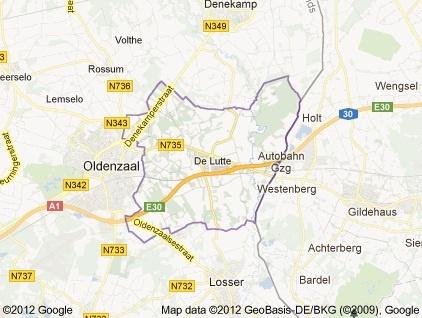 Zonder twijfel: De Lutte heeft het grootste grondgebied in de gemeente Losser. Belangrijk voor de toekomst.