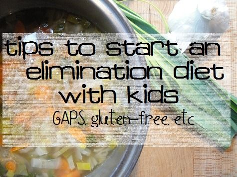 Starting a new diet, like GAPS or even just gluten-free? There's a lot you need to do before day one, especially if your kids are involved. :: via Kitchen Stewardship