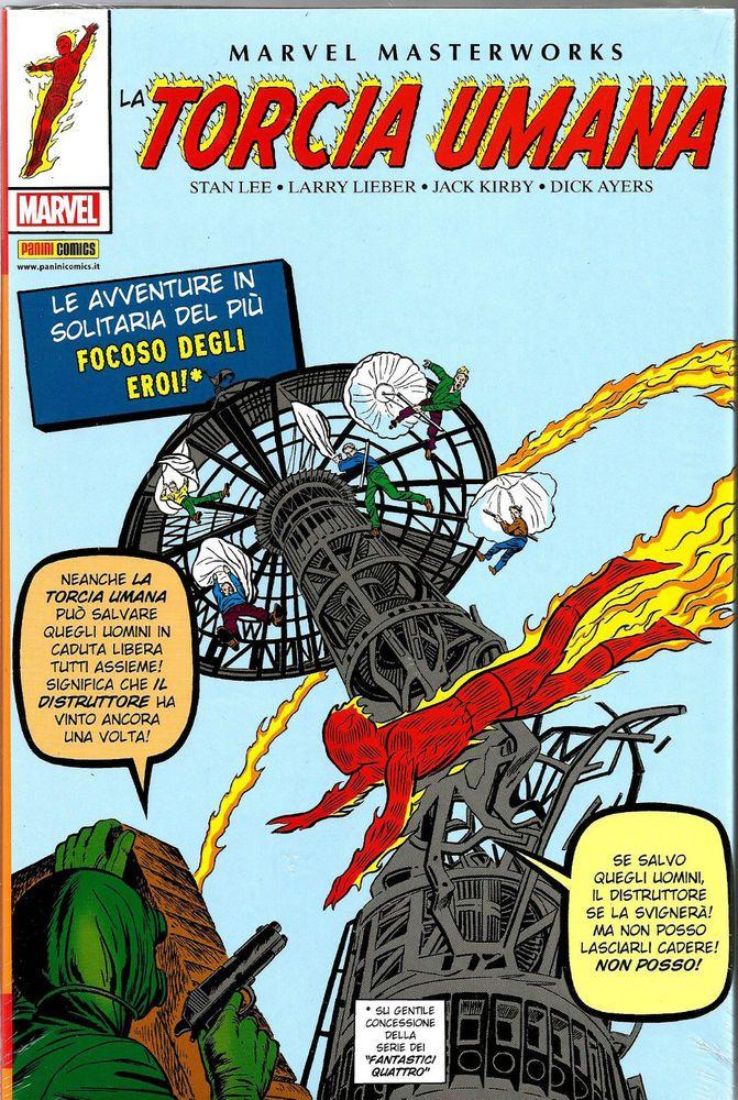 MARVEL MASTERWORKS-LA TORCIA UMANA N. 1  ED. PANINI COMICS