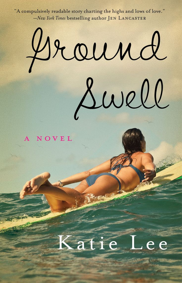 Our current Virtual Book Club pick:  Ground Swell by Katie Lee