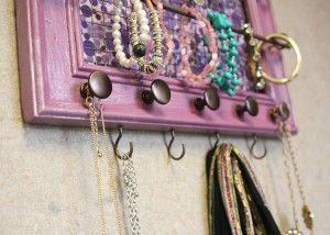 28 best DIY Jewelry Organizer images on Pinterest Organizers Good