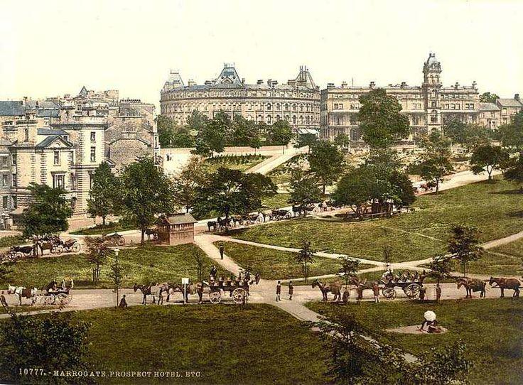 Harrogate, england | yorkshire harrogate prospect hotel 1900 s yorkshire harrogate the ...