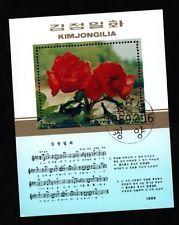 Begonien - Briefmarkenblock mit blühender Begonien Hybride