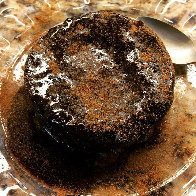 Molten Chocolate-Cinnamon Cake phase 2 approved! Recipe: 2 egg white, ( on ph3 you can use the whole egg) 1T raw cocoa powder, 1.5 T Xylitol, 1/2 tsp vanilla and a dash of salt. Blend together, place in ramekin and microwave for 45-60 seconds on 50% power. (NOT on high!) cake will be soft a runny in the middle. Don't over cook or it will be rubbery.  sprinkle with cinnamon. #FMD #FastMetabolismDiet #mytreat