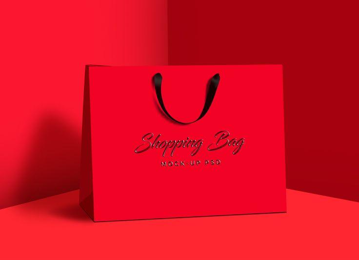 Free Photorealistic Shopping Bag Mock Up Psd Bag Mockup Bags Shopping Bag