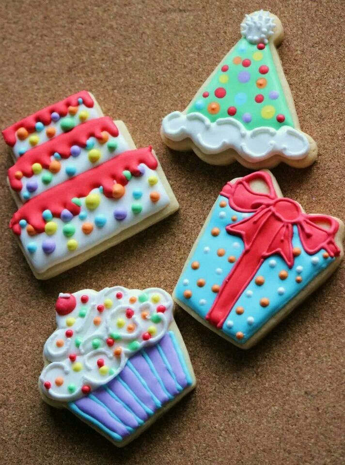 53 best Decorated Cookies Birthday images on Pinterest Decorated