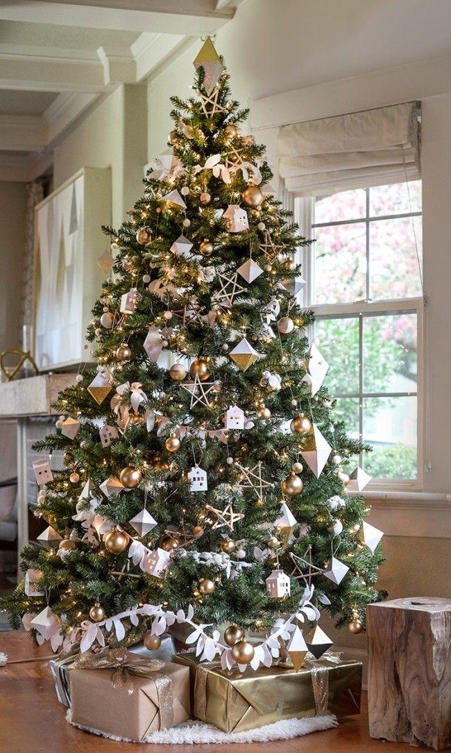 HappyModern.RU | 105 идей как украсить елку в 2016 году: яркие, креативные идеи | http://happymodern.ru