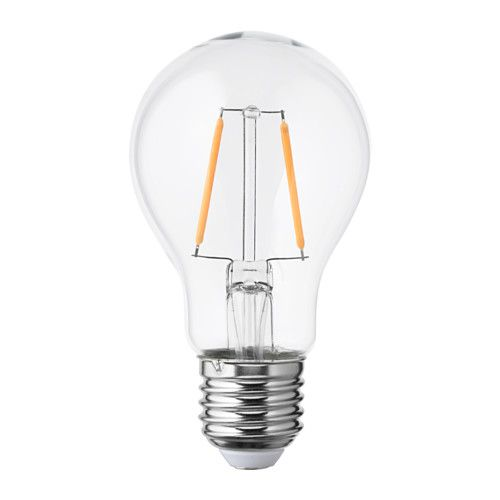 Trend LUNNOM LED Lampe E lm rund Klarglas
