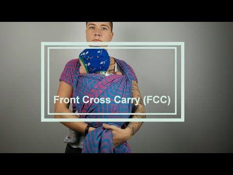 "Kangaroo ""hack"" pre-tied kangaroo carry in a woven wrap - YouTube"