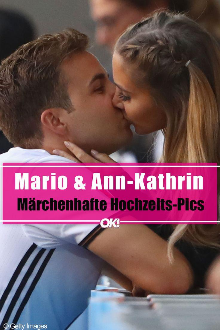 Mario Gotze Ann Kathrin So Schon War Ihr Brautkleid Brautkleid Ann Kathrin Brommel Mario