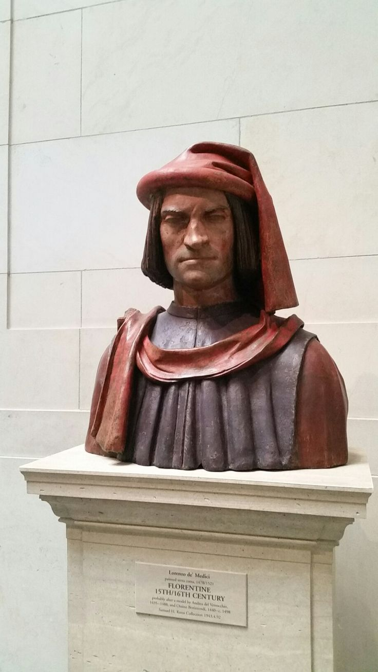 Lorenzo de Medici. National Gallery of Art Washington DC 2017