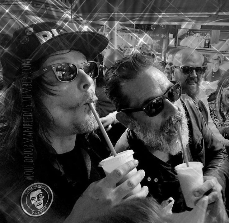 Norman & Jeffery - thirsty thursday | Norman Reedus and Jeffrey Dean Morgan from The Walking Dead