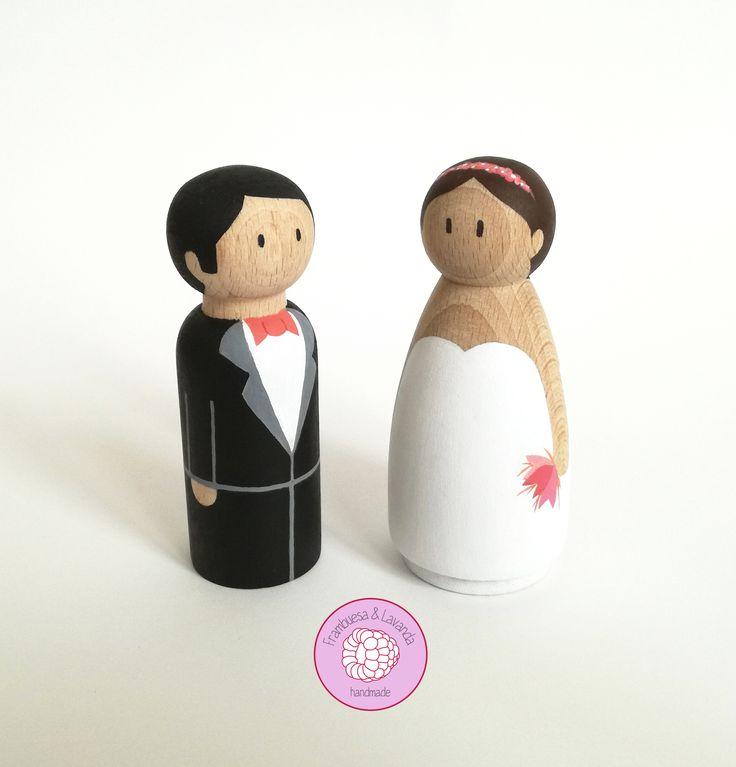 #noviospintadosamano #noviospersonalizados #bodas #wedding #eventos #caketoppers #toppers #novios #handmade #hechoamano #personaliza