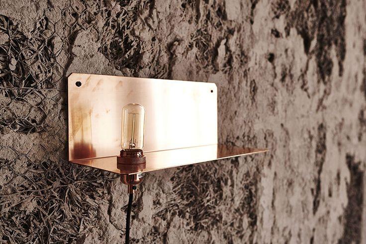 90° Wall Light at the Org. Freemasons Lodge   shot by Michael Falgren