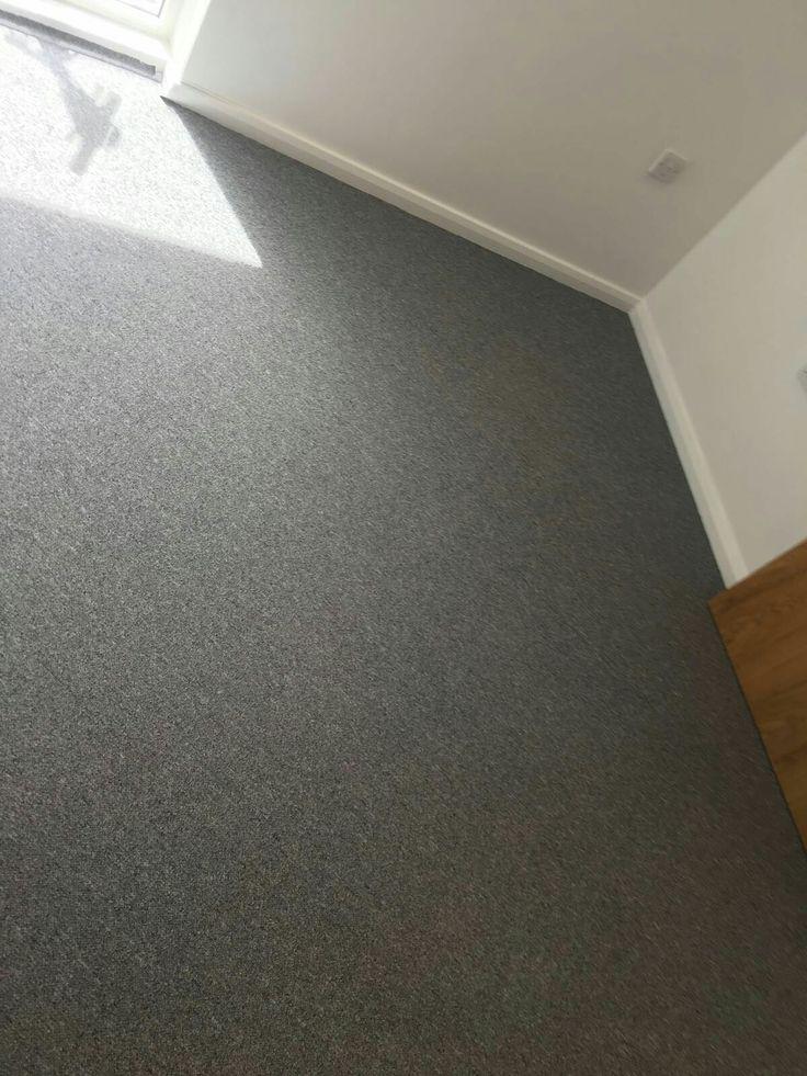 Office Flooring. Grey Carpet Tiles