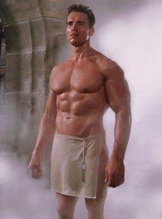 Arnold Schwartzeneger Orgy