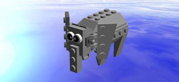 Lego mini Elephant(from Sumatra)