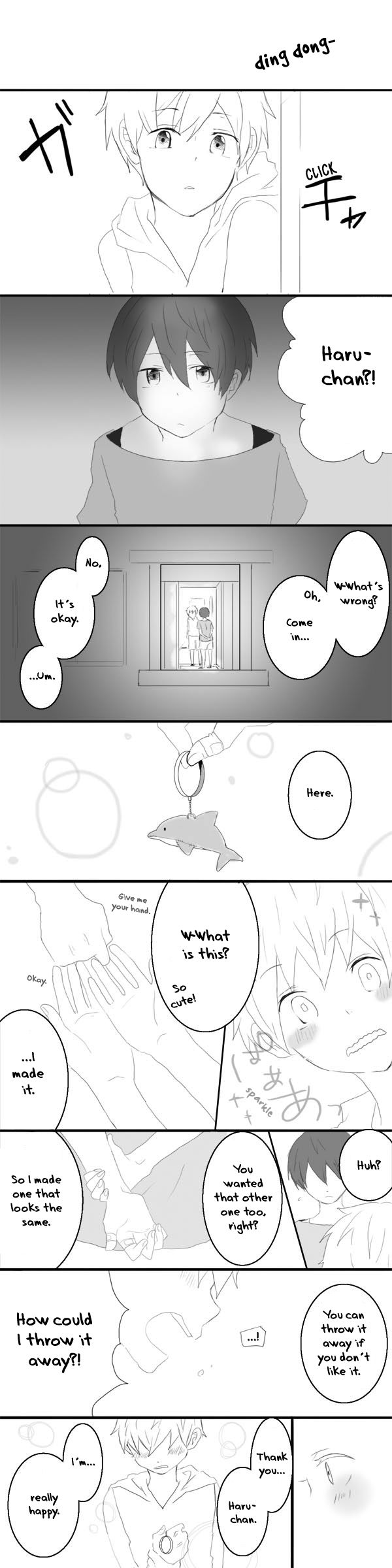 Mako's treasure ... Part 3 ... Found on reader.iron-star.net ... Free! - Iwatobi Swim Club, haruka nanase, haru nanase, haru, free!, iwatobi, makoto tachibana, makoto, tachibana, nanase