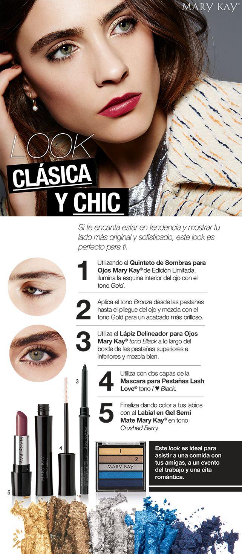 LOOK CLÁSICA Y CHIC