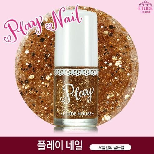 Etude House Dear My Party Nails  PBE102 Golden Bell -- Find out more about the great product at the image link.Note:It is affiliate link to Amazon.