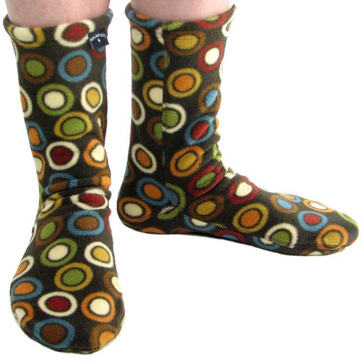 Polar Feet® Fleece Socks Bubble Tea