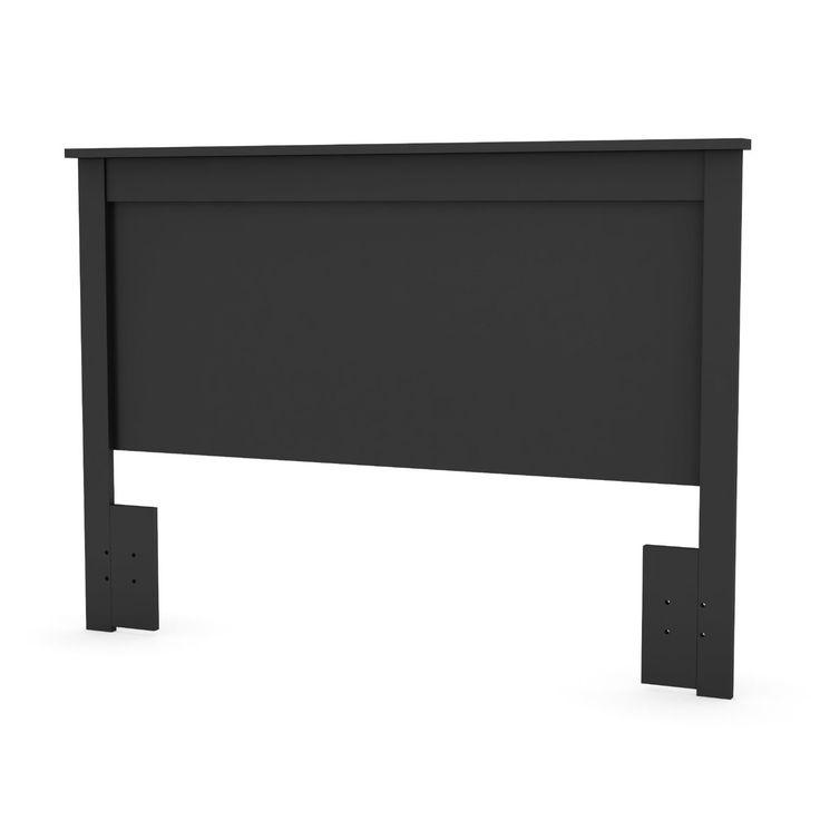 Full / Queen Size Headboard in Black Finish - Made in Canada