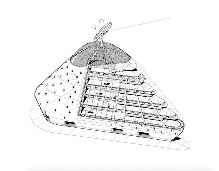 Gallery of London's Architectural Association Exhibits Futuristic Work of Jan Kaplický - 4