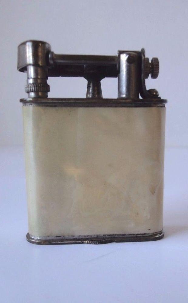 Antique Lift Arm Lighter Metropolitan Life Insurance Co. New York