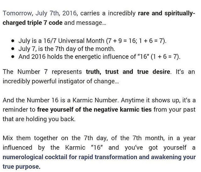 Law of attraction + numerology = breakthrough - numerology