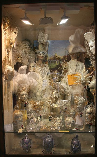 Venetian Mask Shop, Venice