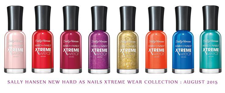 @sallyhansen Hansen New Hard as Nails Xtreme Wear Collection : August 2015 #sallyhansen #xtremewear