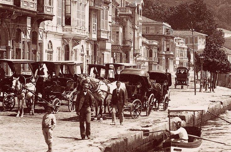 1870'lerde Sarıyer Büyükdere