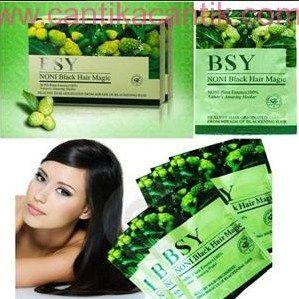 Shampoo Bsy Noni, Shampoo Penghitam Rambut alami yang dihasilkan dari ramuan herbal Sari Pati Mengkudu. **Selengkapnya: http://c-cantik.me/cq **Order Cepat: http://m.me/cantikacantik.id  KONTAK KAMI DI - PIN BBM 2A8FB6B4 - SMS / WA 081220616123 Untuk Fast Response