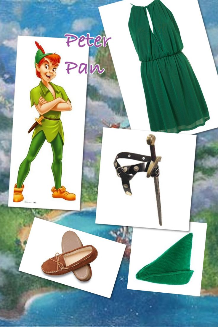 Womenu0027s peter pan costume diy  sc 1 st  Pinterest & 141 best Disney princess DIY costumes images on Pinterest | Disney ...